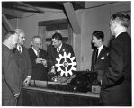 "W.H. Reger show """"House of Magic"""" equipment to members of the GE Half Century..."