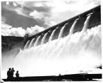 Coulee Dam, Wash.  Principal engineering structure of the Bureau of Reclamation irrigation and...
