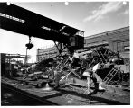 Schenectady NY - More than 153,000 gross tons of vital iron and steel scraps - enough to fill a...