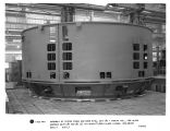 Assembly of stator frame and base ring, unit #2 - Yadkin Inc., for ALCOA Narrows Units #1 and #2...