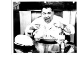 Let's see you beat this with instruments, muses Frankie Petrolle as he samples his favorite dish. ...