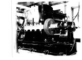 Copy Negative of picture of jumbo generator on display at Greenfield Village for C. D. Wagnor