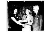 Miss Patricia A. Welch of 819 Lakewood Avenue, Schenectady, receives diploma as only female who...