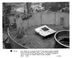 Trial assembly of air housing for one of eight vertical hydraulic-turbine-driven synchronous...