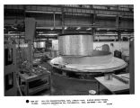 Coil for synchrocyclotron, NASA, Langley Field. Winding second pancake - Catalytic Construction...
