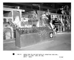 Control panel for line shaft machine at International Paper Corp. Corinth, NY plant..