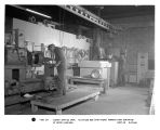 Albany Service Shop.  Fluidized bed (far right) permits fast stripping of motor windings.