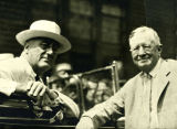 President Franklin D. Roosevelt and George F. Johnson