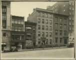Albany, New York Businesses, Huested & Co. Drugs, 128 State St., 1928, between Lodges and...