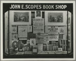 Albany, New York, Businesses, John E. Scopes and Company Book Shop, 23 Steuben Street, Lincoln Display & Carl Sandburg...