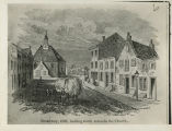 Residential Albany, New York, Illustrated View of Broadway