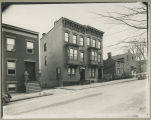 Residential Albany, New York, Eagle Street below Madison Avenue