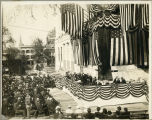 Albany, New York, Laying of the Cornerstone of the Albany County Courthouse