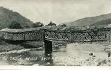 Elk Brook Bridge sagging in the middle