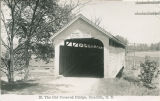 25.  The Old Covered Bridge, Unadilla, NY