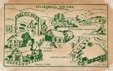 Delaware Co, New York, East Sidney Dam Park, Fitches Bridge, Rural Farm, Winter