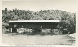 11 - Covered Bridge crossing Delaware River at Downsville, New York