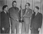 Blue Jays receive the 1947 Championship