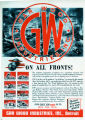 Gar Wood Industries on all fronts advertisement