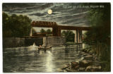 First Lock and G.T.R. Bridge, Kingston Mills
