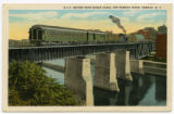 N.Y.C.R.R. Bridge Over Barge Canal and Oswego River, Oswego, N.Y.