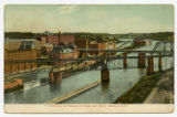 Entrance to Oswego by River and Canal, Oswego, N.Y.