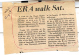 ERA Walk on Sat.