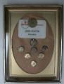 John F. Seaton's Pins For Service to Revere Copper & Brass