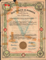 Boy Scouts of America Troop Charter (1916-06-15)