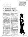 A Feminist Look at Children's Books
