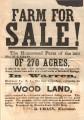 William Cullen Crain Homestead Sale Flyer