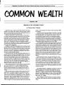 Common Wealth Publication