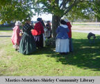 350th Anniversary Celebration of the birth of Brookhaven, colonial era historic reenactment at the...