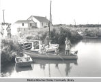 Fishing at a Shirley canal