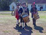 350th Brookhaven Anniversary Celebration at the Manor of St. George, Colonial Reenactors - Drum...