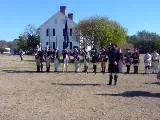 350th Brookhaven Anniversery Celebration at the Manor of St. George, Colonial Re-enactors - Firing...