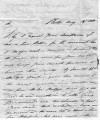 Letter from William Cole to George Clarke, 1818-08-18