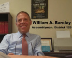 Assemblyman William Barclay Oral History Interview