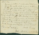 1813-09-01 Letter from Uriah Every to Samuel Sherwood