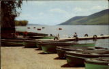 A quiet noonday scene on beautiful Canandaigua Lake at Woodville, New York