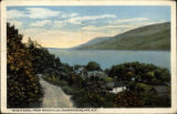 Whale Back, from Woodville, Canandaigua Lake, N.Y.