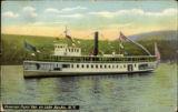 Steamer Penn Yan on Lake Keuka, N.Y.