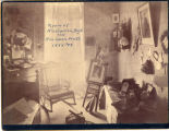 Cowles Hall, room of Miss Carrich Boyd and Miss Sarah Pratt 1883-1885