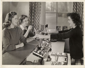 Cowles Hall snack bar - 1942