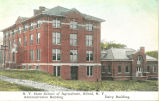 N.Y. State School of Agriculture, Alfred, N.Y. -- Administration Building and Dairy Building