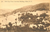 Bird's Eye View, University Buildings, Alfred, N.Y.