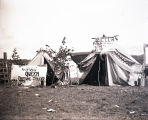 Zella, the Gypsy Fortune Teller's tent