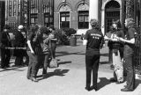 Women Against Pornography Protest at the Gates of Barnard College