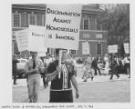 5th annual 'reminder' picket of Independence Hall protest