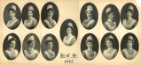 The 1905 graduating class of the Rochester City Hospital School of Nursing